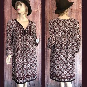 Max Studio Boho Dress Size Small